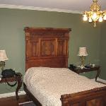 Bed in main room