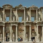 This is the library at Ephesus, well worth the visit.