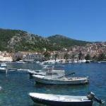  The beautiful town of Hvar