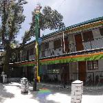 Pema Thang is up the hill from one of the main intersections in McLeod Ganj