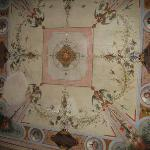 Our fresco'ed ceiling