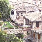 Gubbio, medieval neighborhood around the Hotel Grotta dell'Angelo