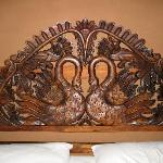  Handcarved Kingsize Headboard