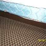 Old Beds and Old Leftovers on Carpet