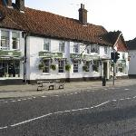 The George Hotel from Odiham High Street