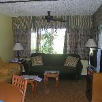 Living Room at Lehigh Acres Resort
