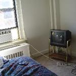 A/C and TV, somebody needs to hire an electrician!!!