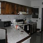  Kitchen area of apartment
