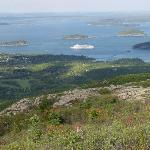 Acadia's Cadillac Mountain and Bar Harbor