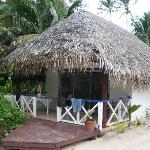 My bungalow... not beachfront, but ok....