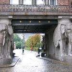 Entrance to the Carlsberg Brewery