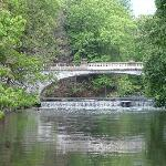The White Bridge on the Vanderbilt Mansion Grounds