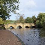 The 17th Century Bridge in Bakewell