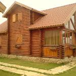  A Log chalet exterior