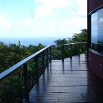 Ocean view from main house