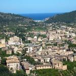 Soller with views to the sea