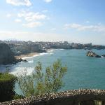 Southern beaches at Biarritz