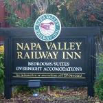 Napa Valley Railway Inn resmi