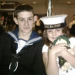 my son's passing out at plymouth