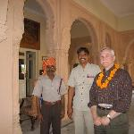 Doorman with Driver and Guest