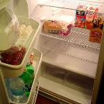 Full featured refrigerator (food not included)