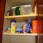 Functional cupboards (food not included)