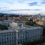View of Zagreb from our room