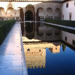 mirror pool in Alhambra (1746846)