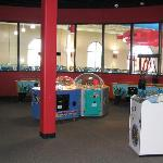 The arcade - above the water park