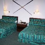  Two big beds in Room at Tarangire