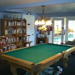 Game Room and Indoor Pool