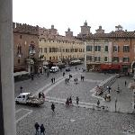 view of piazza from room