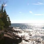 The Cliff Dweller on Lake Superiorの写真