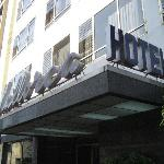  Entrance of hotel