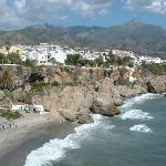  Beach at Nerja