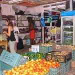 local vegetable and fruit market