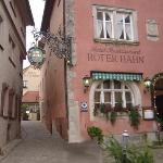 Foto Roter Hahn Rothenburg