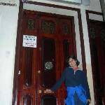 Hostal Corbero Interior Door