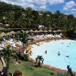 The Wave Pool - I took this picture from the top of Shaka