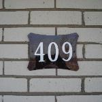 The room we stayed in - 409