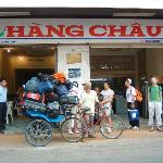  Entrance to Hang Chau 2 hotel