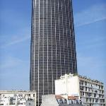 View of Montparnasse Tower from room 64