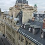  View out our window of the Sorbonne