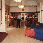  Welcoming lobby