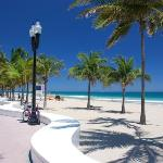 Fort Lauderdale beach and beach walk