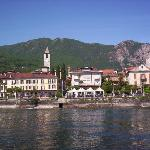 View of Baveno from Lake