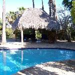 Pool and Palapa at the hacienda