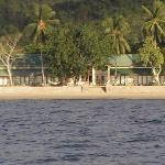  Photo of resort taken from boat