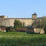 Full view of Abbaye Chateau de Camon