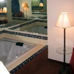 In-room whirlpool - VERY comfortable and hot!